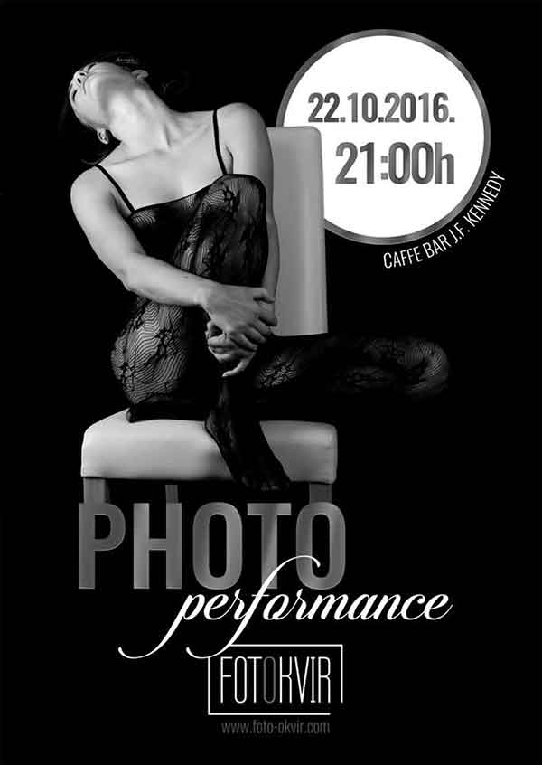 Performance FotoOkvir i m-photoart u JFK