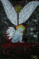 angel 20x30 (akril na platnu)