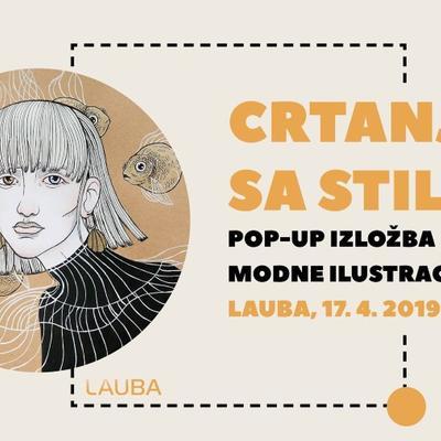 Crtanje sa stilom - Pop-up izložba modne ilustracije