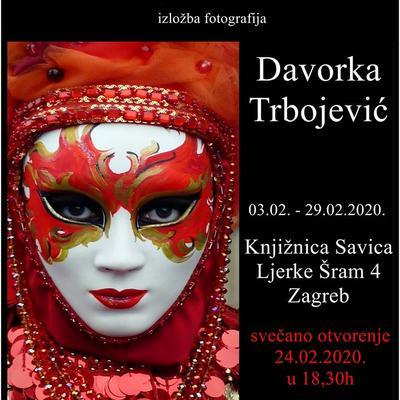 "Izložba fotografija Davorke Trbojević ""Dva lica-skriveno otkriveno"""