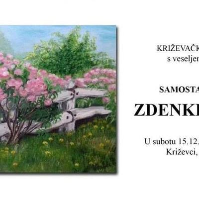 Samostalna izložba Zdenke Vrabec