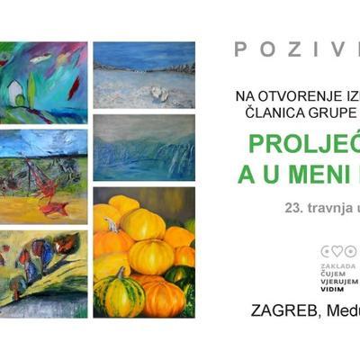 """Izložba slika """"Proljeće je, a u meni nemir"""""""