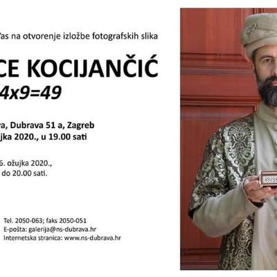 Otvorenje izložbe fotografskih slika Đurđice Kocijančić