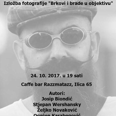 """Izložba fotografije """"Brkovi i brade u objektivu""""..."""