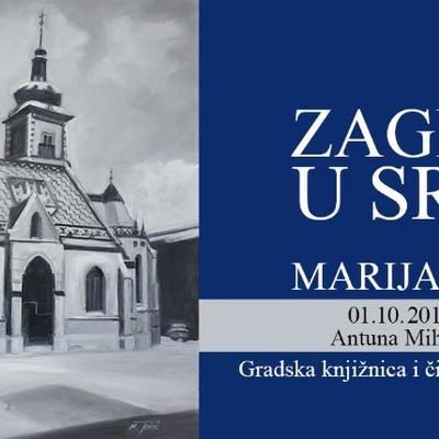 """Izložba Marije Tokić u Novom Marofu """"Zagreb u srcu"""""""