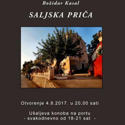 """OTVORENJE SAMOSTALNE IZLOŽBE FOTOGRAFIJA BOŽIDARA KASALA POD NAZIVOM """"SALJSKA PRIČA""""..."""