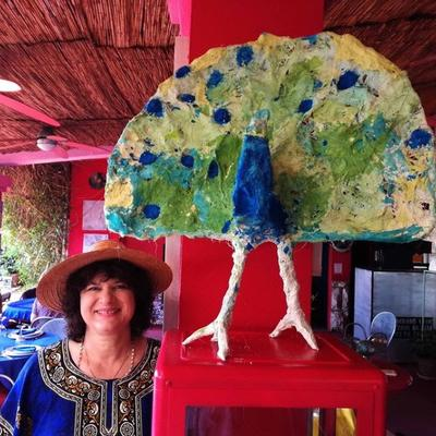 Izložba skulptura na Palmižani - Ljubica D. Buble