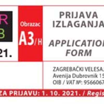 Pozivnica - Art Fair Zagreb 2021