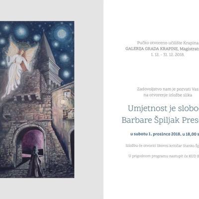 Otvorenje izložbe Barbare Špiljak Presečki