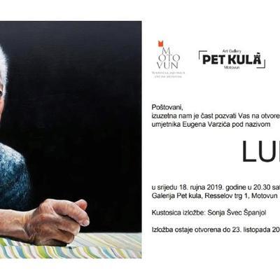 """Samostalna izložba """"Ludus"""" akademskog umjetnika Eugena Varzića"""