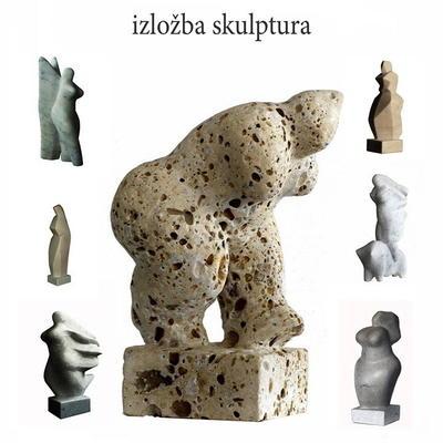 Izložba skulptura Petar Hranuelli