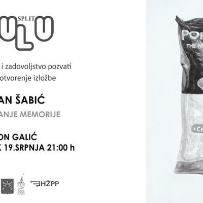 Izložba  Mirana Šabića ''Arhiviranje memorije''
