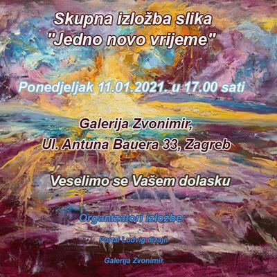 Skupna izložba slika ''Jedno novo vrijeme''